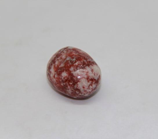 Pedra Jaspe Sanguíneo Rolada - Helena Cristais