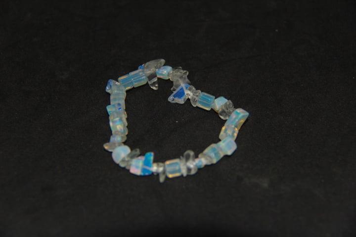 Pulseira de Pedra Opalina - Helena Cristais
