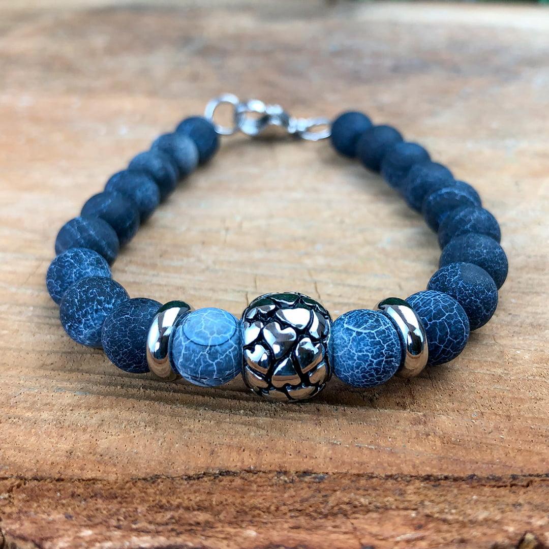 Pulseira de Pedra Lápis Lazuli
