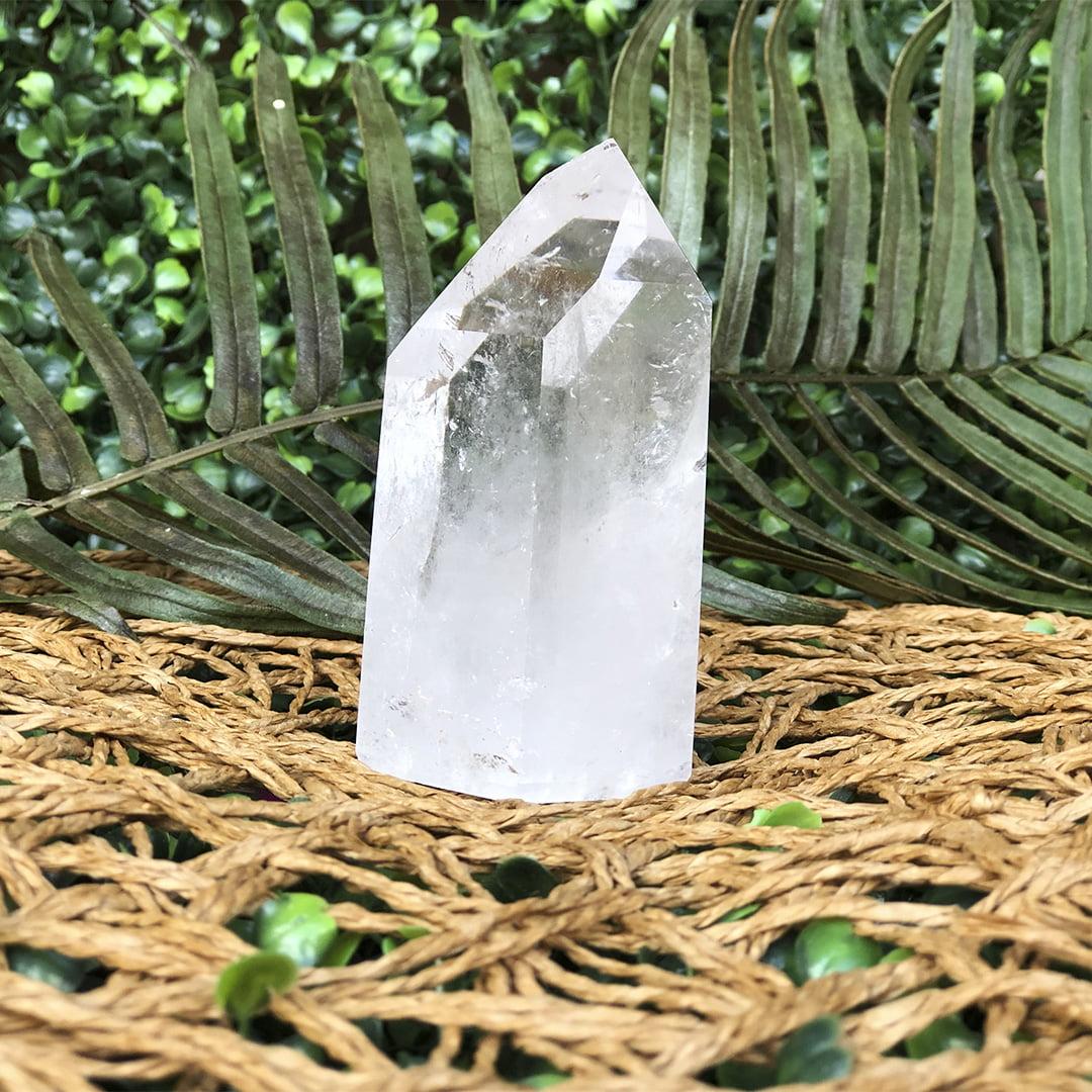 Ponta Cristal Transparente 10672