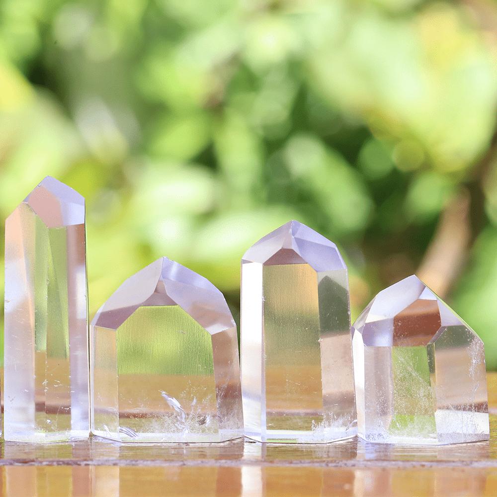 Ponta Cristal Transparente 8296