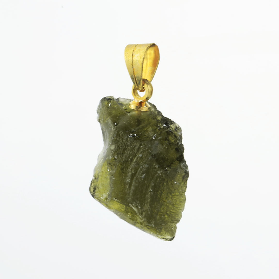 Pingente Moldavita (Meteorito) 10,4 quilates
