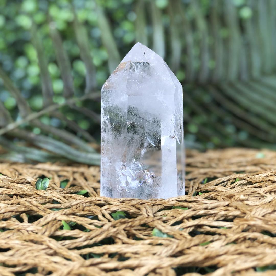 Ponta de Quartzo Cristal 10669
