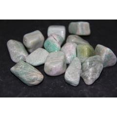 Pedra Amazonita Rolada 2235 - Helena Cristais