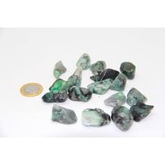 Pedra Esmeralda Rolada 2 a 3 cm