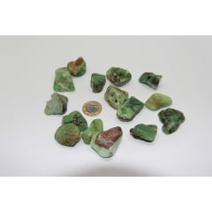 Pedra Crisoprásio Rolada 3×3,5xcm - Helena Cristais