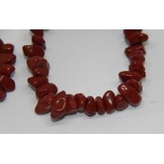 Pulseira de Pedra Jaspe Vermelho