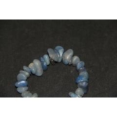 Pulseira de Pedra Quartzo Azul
