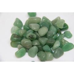 Pacote de Pedra Quartzo Verde 500g - Helena Cristais