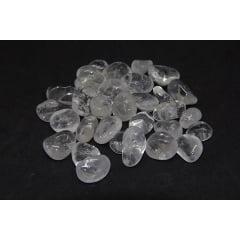 Pacote de Pedra Quartzo Cristal 100g 0,5 a 2 cm