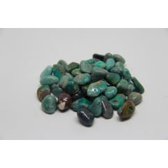 Pedra Crisocola Rolada - Helena Cristais