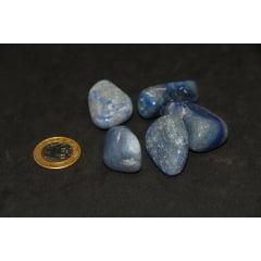 Pacote de Pedra Quartzo Azul 1Kg - Helena Cristais
