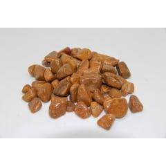 Pacote de Pedra Jaspe Dourado 1Kg