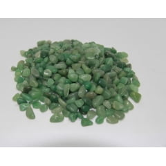 Pacote de Pedra Quartzo Verde 1Kg-1 a 2cm