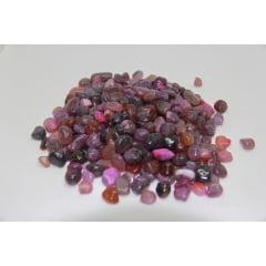 Pacote de Pedra Ágata Rosa 1Kg B