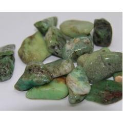 Pedra Crisoprásio Rolada - Helena Cristais