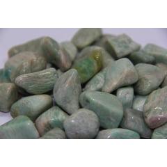 Pedra Amazonita Rolada 3927 - Helena Cristais