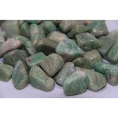 Pedra Amazonita Rolada 3928 - Helena Cristais