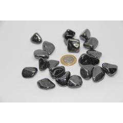 Pedra Hematita Rolada 2 a 2,5 cm - Helena Cristais