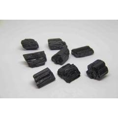 Pedra Turmalina Negra Bruta 4,5 a 5 cm - Helena Cristais