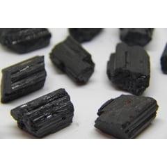 Pedra Turmalina Negra Bruta - 3 a 5 cm