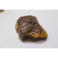 Pedra Olho de Tigre Bruta - Helena Cristais