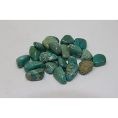 Pedra Turquesa com Furo g