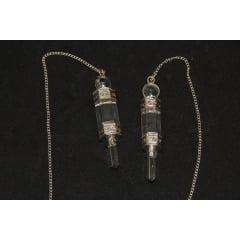 Pêndulo Base de Quartzo Cristal - Helena Cristais