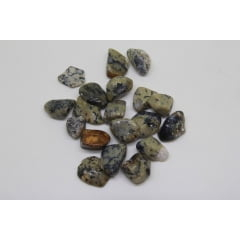 Pedra Ágata Dendrítica Rolada 2,5 a 3,5 cm