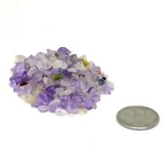 Pacote de Pedra Ametista Cascalho 1 Kg