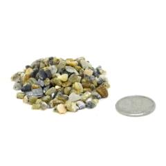 Pacote de Pedra Ágata Dendrítica Cascalho 500 g