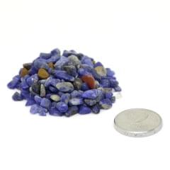 Pacote de Pedra Sodalita Cascalho 100 g