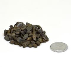 Pacote de Pedra Bronzita Cascalho 500 g