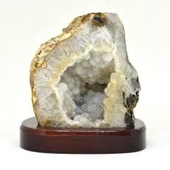 Geodo de Ágata na Base 970 g