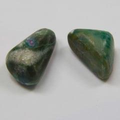 Pedra Rubi com Zoisita Rolada 2x3cm