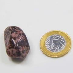 Pedra Jaspe Pipoca Rolada 2x4cm
