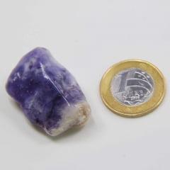 Pedra Opala Roxa Rolada 2×3,5cm