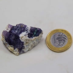 Pedra Opala Roxa Bruta 3x4cm