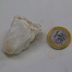 Pedra Ônix Branco Bruta 1x5cm