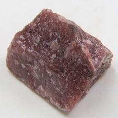 Pedra Quartzo Vermelho Bruta 2,5x4cm