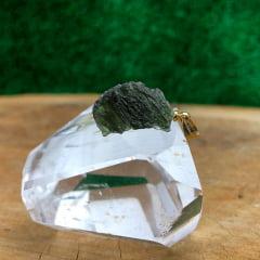 Pingente Moldavita (Meteorito) 10633