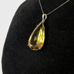 PINGENTE GREEN GOLD DE PRATA 10776