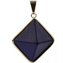 Pingente Pedra Estrela Pirâmide