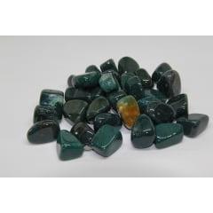 Pedra Ágata Musgo Rolada 3,5 a 4 cm - Helena Cristais