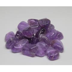 Pedra Ametista Rolada de 5 a 5,5cm - Helena Cristais