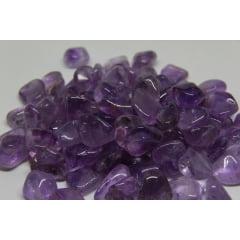 Pedra Ametista Rolada de 2 a 3,5 cm - Helena Cristais