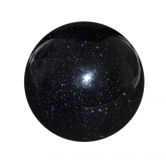 Pedra da Estrela Esfera Azul 1009g