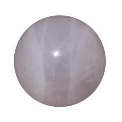 Pedra Quartzo Rosa em Bola 170g
