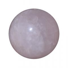 Pedra Quartzo Rosa em Esfera 146g