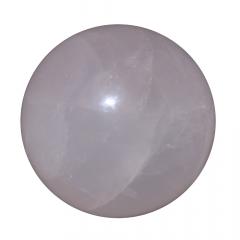 Pedra Quartzo Rosa em Esfera 153g